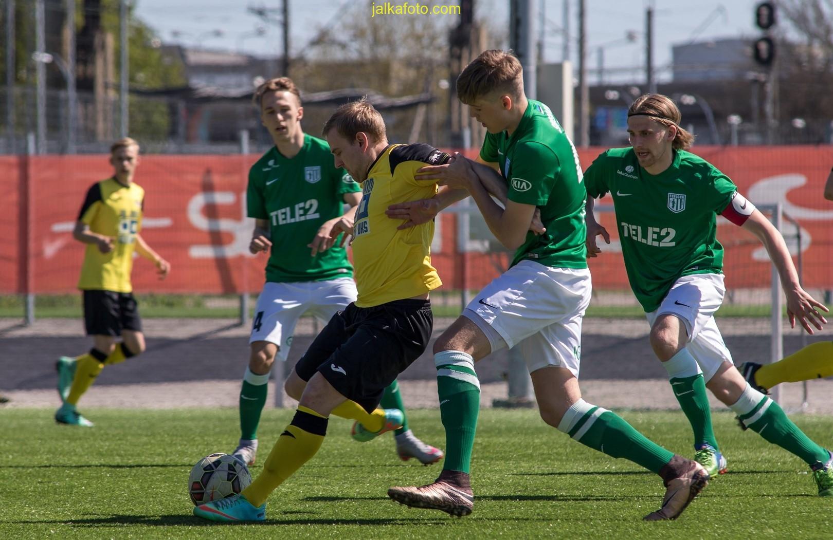 8dbd7dc3654 Tallinna FC Flora U19 - Viljandi JK Tulevik II (07.05.16)