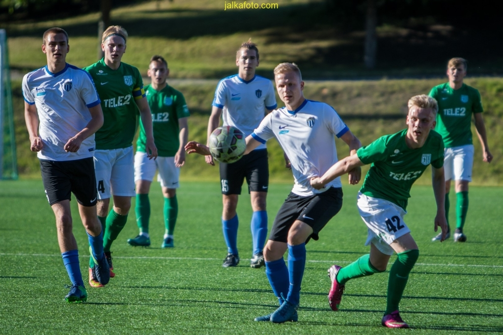 JK Tallinna Kalev – Tallinna FC Flora U21, Esiliiga, 07.07.17